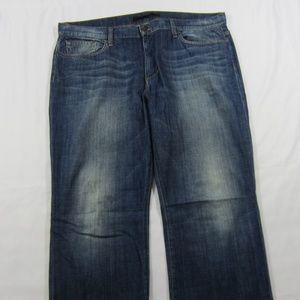 Joe's Dark Wash RELAXED FIT Leg Denim Jeans Sz 40